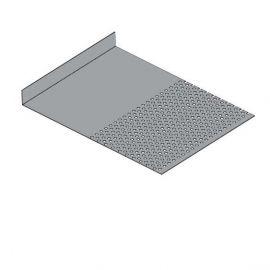 Tôle départ Alu Ventilée Packeasy® prof. 181 mm RAL 7040
