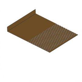 Tôle départ Alu Ventilée Packeasy® prof. 181 mm RAL 8008