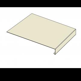 Tôle Rive Ajustable Alu prof. 250 mm RAL 1013