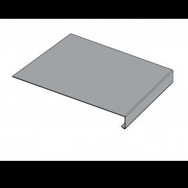 Tôle Rive Ajustable Alu prof. 250 mm RAL 7040