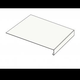 Tôle Rive Ajustable Alu prof. 250 mm RAL 9016