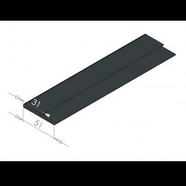 Tôle Épingle pour Ébrasement et Linteau RAL 7016