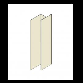 Tôle en H Alu RAL 1013