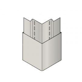 Coin ext Lisse Naturetech® 13 de 90 mm Pin