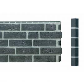Angle Brique Standard Vinybrick® 420 x 45 x 45 mm Anthracite