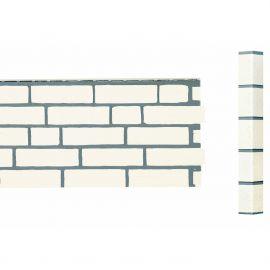Angle Brique Standard Vinybrick® 420 x 45 x 45 mm Blanc cassé