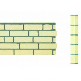 Angle Brique Standard Vinybrick® 420 x 45 x 45 mm Ivoire