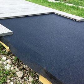 Feutre Géotextile 2 x 25 m Noir Traité Anti UV
