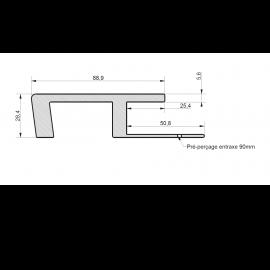 Profil de Raccord Zumaclin® Vert lichen