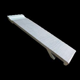 Bardage PVC Composite Procel® Bleu horizon