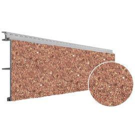 Bardage PVC Vinystone® Design Aspect Pierre Madeira - 6 x 1.20 ml