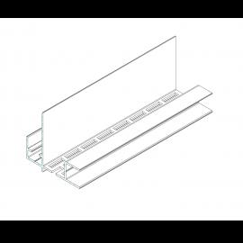 Ventilation supérieur châssis + Finition avant toit Noir