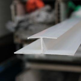 Profilé d'aboutage en H Bardexel® Lisse Blanc
