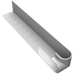 Angle Extérieur pour Planche de Rive 300 mm ép. 10 mm Blanc
