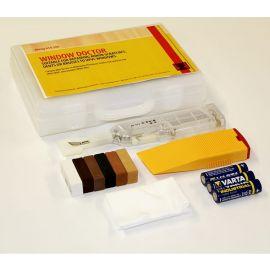 Kit Fenêtre : Fer à Fondre / Cire Dure / Spatule / Tissu à Poncer et à Polir