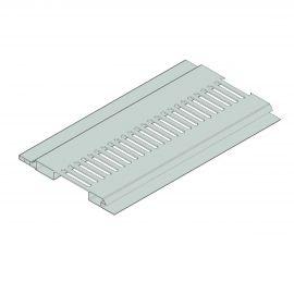 Ventilation Mâle/Femelle 100 x 10 mm Gris