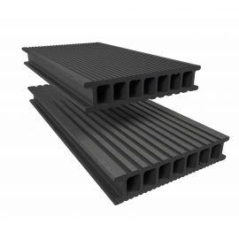 Lame de Terrasse Essentielle Alvéolaire Twinson® 4000 x 140 x 28 mm Beige noix
