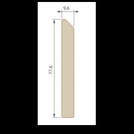 Plinthe 77,6 x 9,6 mm pour Terrasse Twinson Gris ardoise