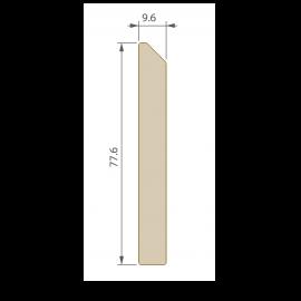 Plinthe 77,6 x 9,6 mm pour Terrasse Twinson Gris galet