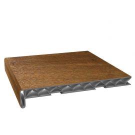 Tablette PVC Alvéolaire 250 mm Chêne doré