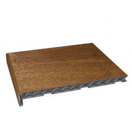 Tablette PVC Alvéolaire 300 mm Chêne doré