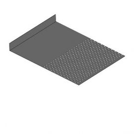 Tôle départ Alu Ventilée Packeasy® prof. 181 mm RAL 7022