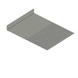 Tôle départ Alu Ventilée Packeasy® prof. 181 mm RAL 7030