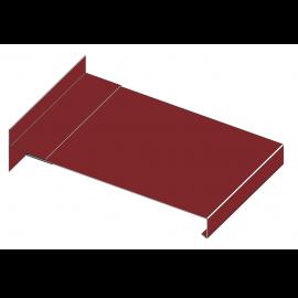 Tôle Épingle alu pour Rive RAL 3011