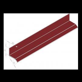Larmier Alu 22 mm RAL 3011