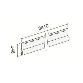 Profil de Départ Vinyl H. 46 mm Blanc
