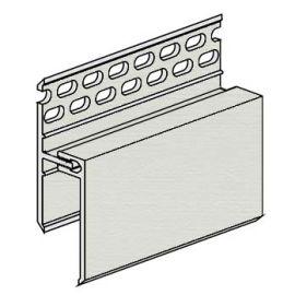 Profil de Ventilation Haute 2 parties Kerrafront® Gris perle