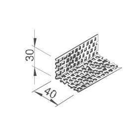 Profil de Ventilation Alu pour Bardage Alvéolaire Vinyplus®