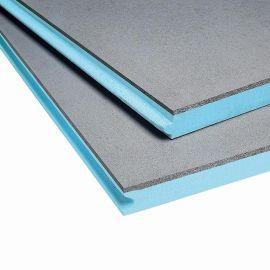 Panneau rigide en mousse de polystyrène extrudé bleu