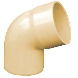 Coude 67.30° diam. 80 mm Femelle/Femelle Sable