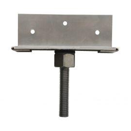 Connecteur inox pour structure bois de 160 x 60 x 3 mm
