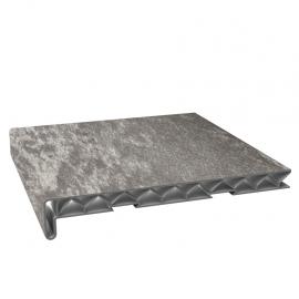 Tablette PVC Alvéolaire 250 mm Stone