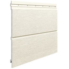 Bardage Kerrafront® Modern Wood Connex Blanc 2.95 ml