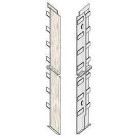Éclisse FS302 332 x 35 mm Blanc