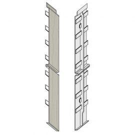 Éclisse FS302 332 x 35 mm Pierre d'argile