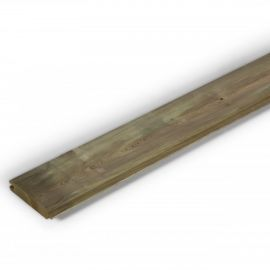 Lame Pin Rouge du Nord imprégné Vert 2,7 x 13 x 205 cm