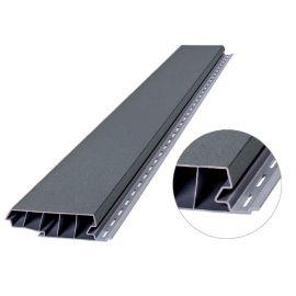 Profilé de recouvrement VINYPLUS largeur 120 mm Gris 7001