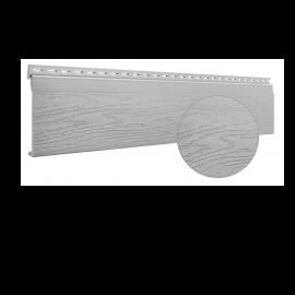 Bardage PVC cellulaire Vinytop 167 x 18 mm Gris clair 6 ml