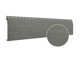Bardage PVC cellulaire Vinytop 167 x 18 mm gris basalt 6 ml