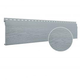 Bardage PVC cellulaire Vinytop 167 x 18 mm Gris 6 ml