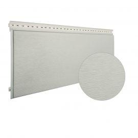 Bardage PVC cellulaire Multipaneel finition bois 250 x 18 mm Crème 2.4 ml