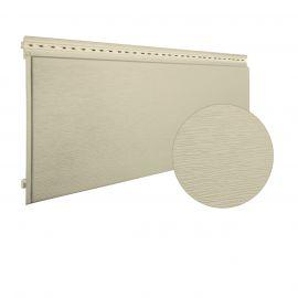 Bardage PVC cellulaire Multipaneel finition bois 250 x 18 mm Ivoire clair 2.4 ml