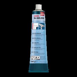 Colle blanche pour le collage de pièces en PVC rigide blanc - soudage à froid 200 ml