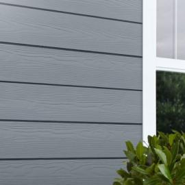 Bardage Cedral Click finition relief 186 x 3600 x 12 Bleu océan
