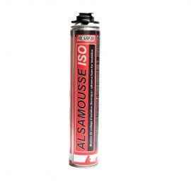 Mousse polyurethane de collage d'isolation pour pistolet 800ml
