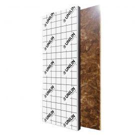 Plaque polyuréthane + laine de verre 1200 x 2700 x 50 mm - 1 pièce = 3.24 m²
